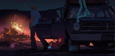 Love, Death + Robots Короткометражка, Киберпанк, Стимпанк, Гифка, Спойлер, Netflix, Длиннопост, Любовь смерть и роботы