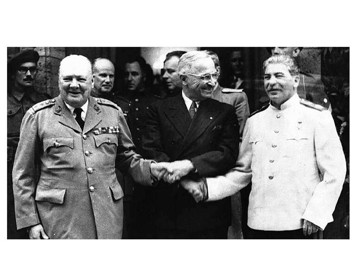Материалы Берлинской (Потсдамской) конференции Лига историков, Потсдамская конференция, 1945, США, СССР, Великобритания, Длиннопост