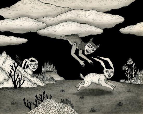 Демонический мир Джона Макнейра Подборка, Арт, Крипота, Рисунок, Длиннопост