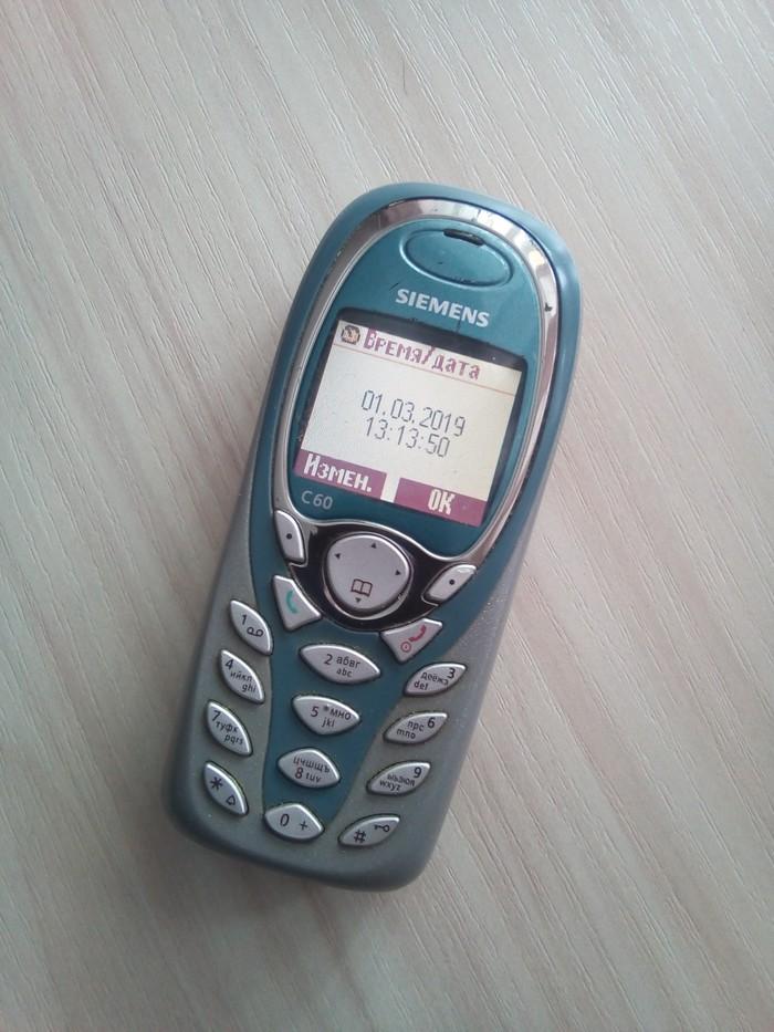 А он все работает и работает! Первый сотовый, Мобильные телефоны, Раритет, Олдскул, Siemens