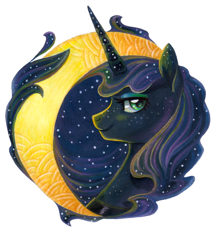 Luna My Little Pony, Princess Luna, Луна, Dany-The-Hell-Fox