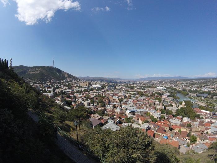 Пейзажи Грузии Грузия, Путешествия, Мцхета, Местиа, Сванетия, Тбилиси, Пейзаж, Длиннопост