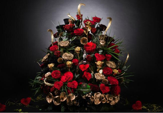 Самый дорогой букет цветов в мире Подарок, 8 марта, Деньги