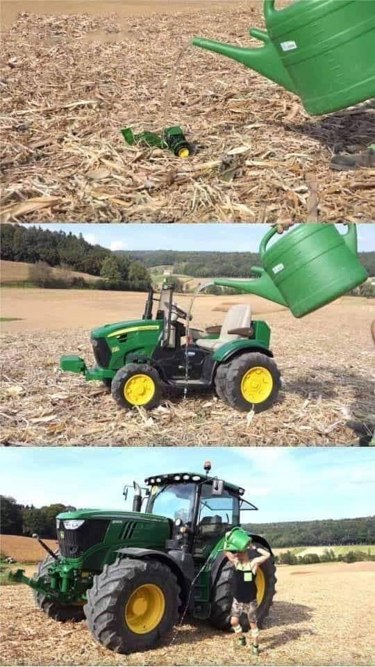 Как вырастить свой собственный трактор! (инструкция) Агроскаут360, Сельское хозяйство, Трактор, Юмор