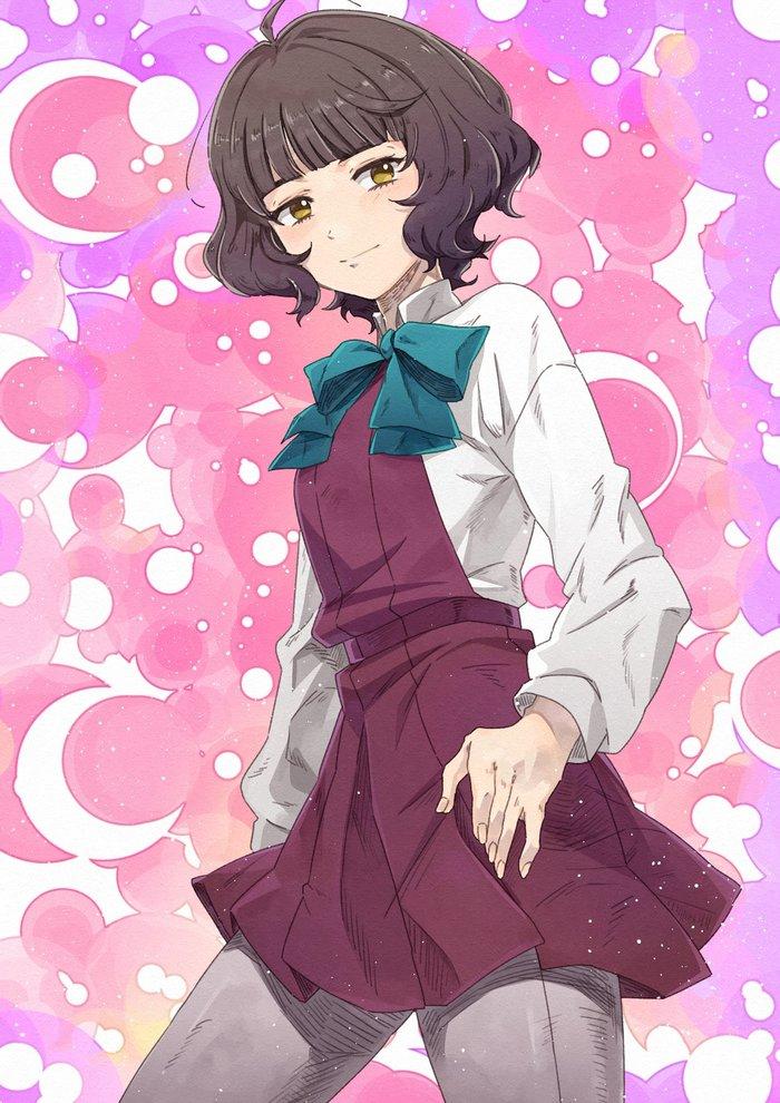 Yuugumo-class (художник: Kanmiya Shinobu) Kantai Collection, Аниме, Anime Art, Yuugumo, Kishinami, Okinami, Makigumo, Kazagumo, Длиннопост