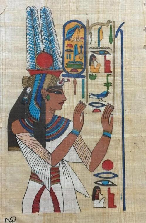 До и после ... покупка в 20$ Египет, Папирус, Уличный торговец, Длиннопост
