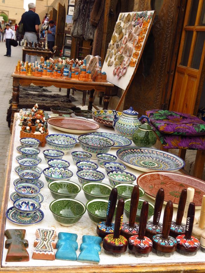 Сувениры Узбекистана Узбекистан, Хива, Сувениры, Керамика, Текстиль, Путешествия, Длиннопост