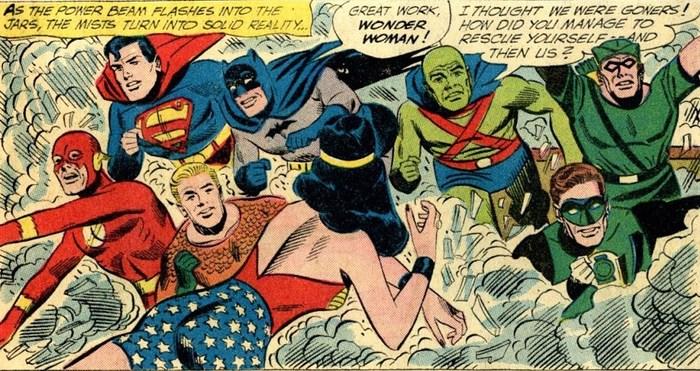 Погружаемся в комиксы: Justice League of America #11-20 Супергерои, DC Comics, Лига Справедливости, Комиксы-Канон, Длиннопост
