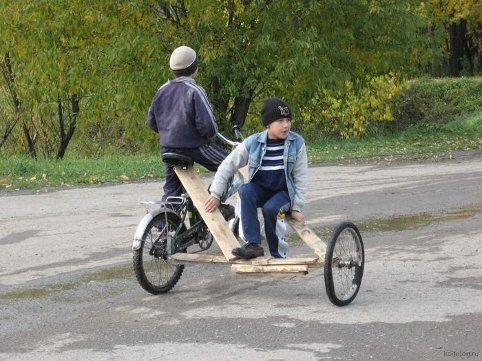 Велик с коляской