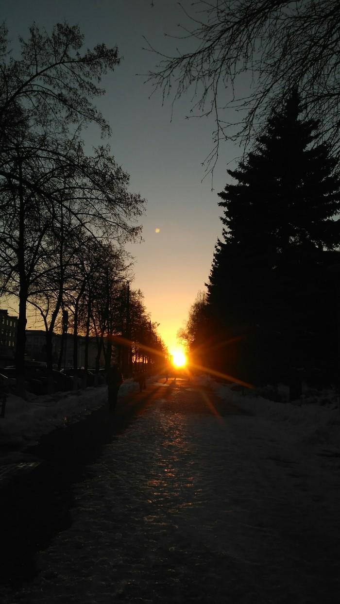Луч солнца золотого..
