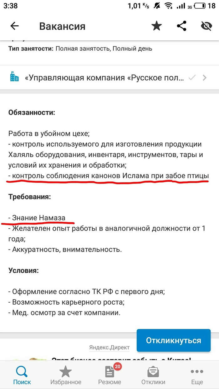 Традиции Ислам, Скриншот, Headhunter, Маразм