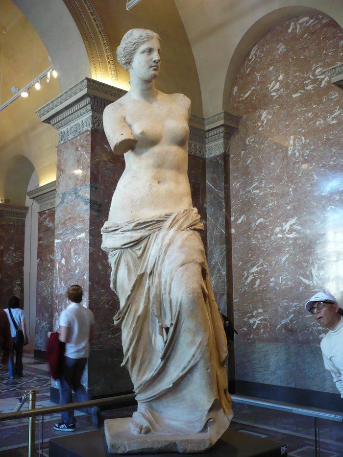 Венера Милосская (клубничный бунт) Венера, Древняя греция, Античность, Скульптура, Длиннопост