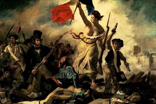«Свобода, ведущая народ», или «Свобода на баррикадах» — картина французского художника Эжена Делакруа Искусство, Франция