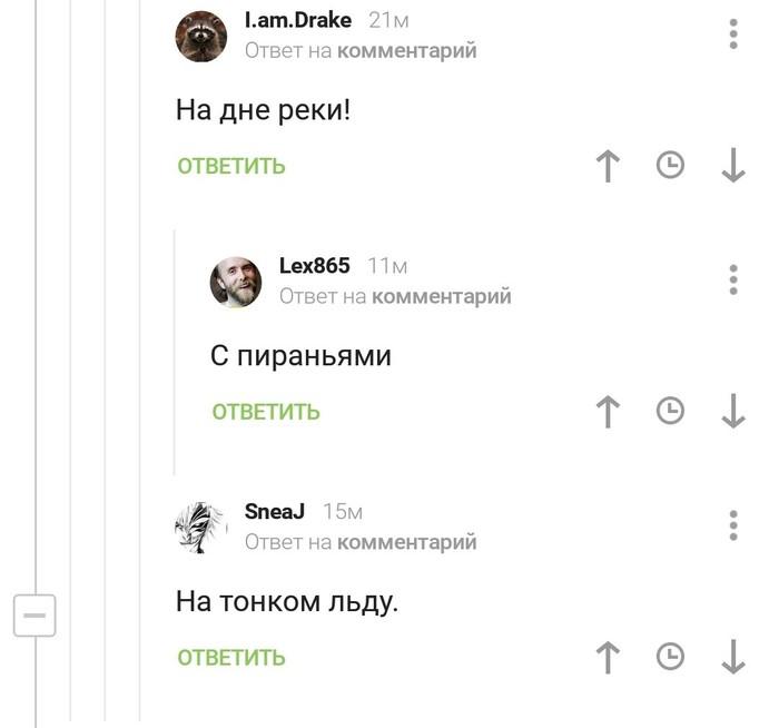 Комментарии на Пикабу Комментарии на Пикабу, Пиранья, Длиннопост, Скриншот
