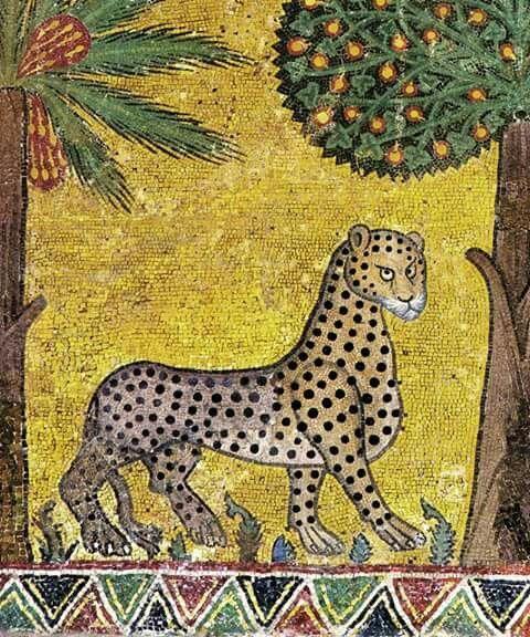 Фрагментированные коты. Животные, Византия, Античность, Scientaevulgaris, История, Длиннопост, Мозаика