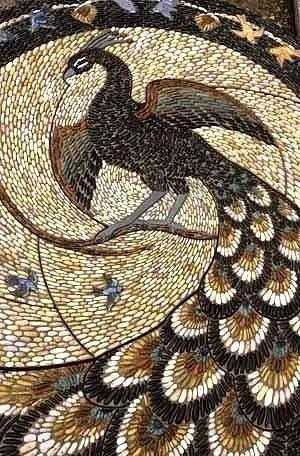 Мозаика из морской гальки Мозаика, Натуральные камни, Длиннопост, Галька
