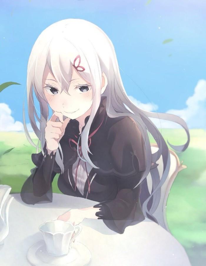 Чаепитие с Ехидной Аниме, Re:zero kara, Anime Art, Echidna