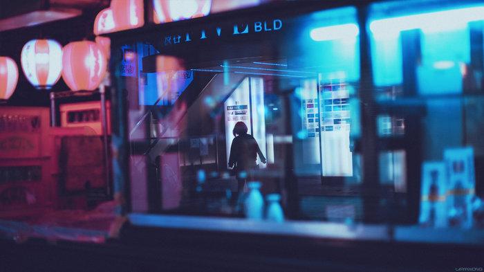 Ночной Токио в объективе Lyam Wong Хидео Кодзима, Фотография, Токио, Фотограф, Длиннопост