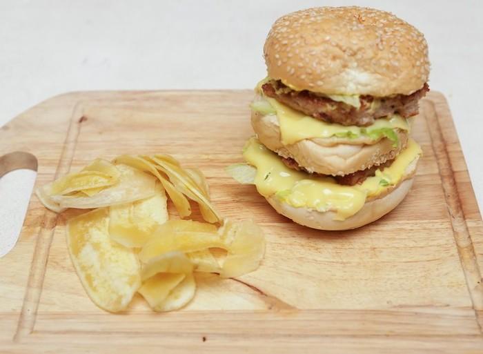Рецепт приготовления Биг Мак McDonald's дома (фотки внутри) Длиннопост, Рецепт, Секретный рецепт, Бургер, Фастфуд, Макдоналдс