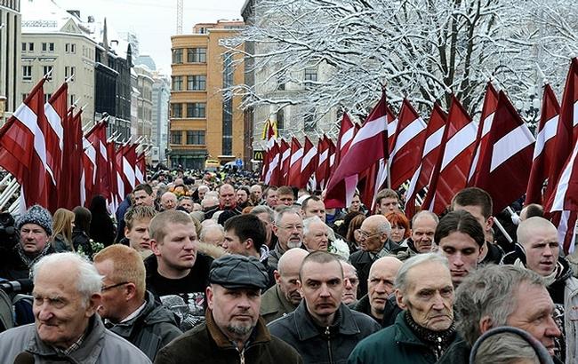 Почему Германия молчит про Ваффен СС в Риге Рига, Ваффен СС, Германия, Нацизм, Русофобия, Антисемитизм, Длиннопост, Политика