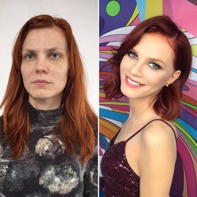 Современный макияж творит чудеса, или зачем на первое свидание звать девушку в бассейн Макияж, Девушки, Длиннопост