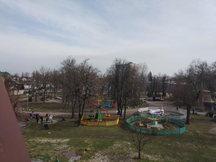 Любимое место на работе Фото на тапок, Фотография, Парк, Детский парк, Длиннопост