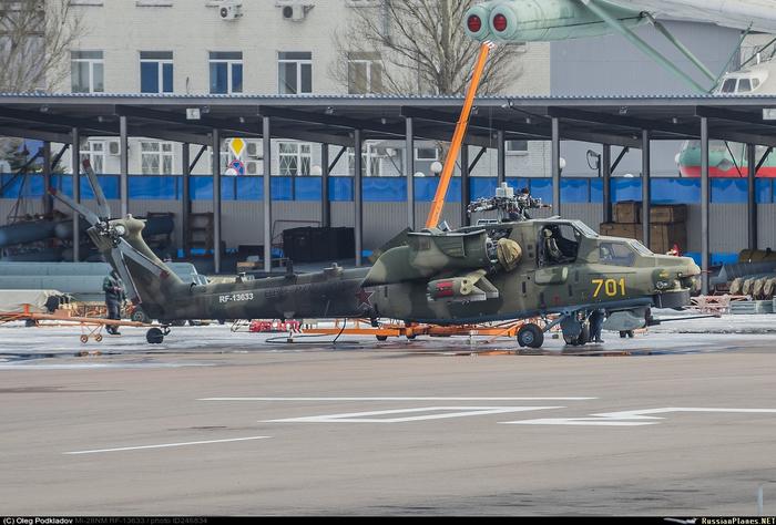 Первое боевое применение Ми-28НМ Ми-28нм, Сирия, Вкс, Вертолёт, Видео, Длиннопост