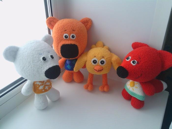 Мишки Мимимишки Вязание, Детские игрушки, Подарок, Ручная работа, Мягкая игрушка