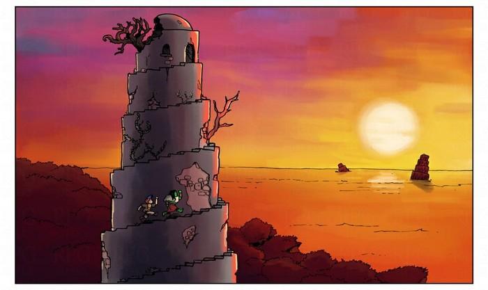 Ступеньки-пеньки-пеньки RPG, Компьютерные игры, Ролевые игры, Настольные ролевые игры, Квест, Длиннопост, Комиксы, Веб-Комикс