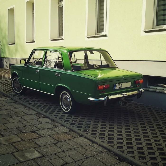 """Это в России она """"Копейка"""", а в Германии - """"Евроцент"""" Ваз-2101, Авто, Германия, Классика, Жигули"""
