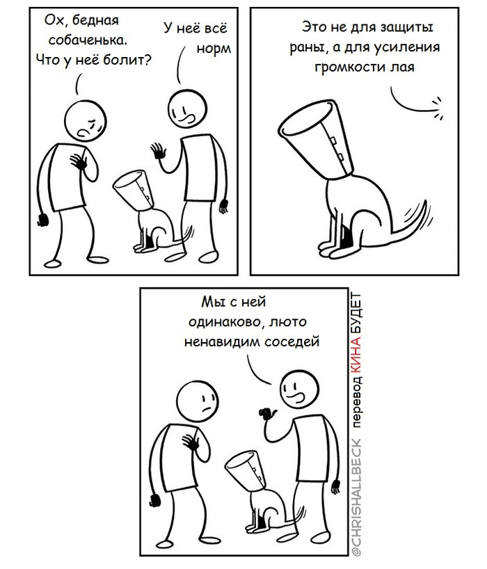 Собака мизантропа...