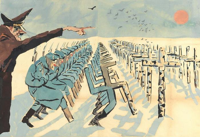 Гитлер и идущие на смерть