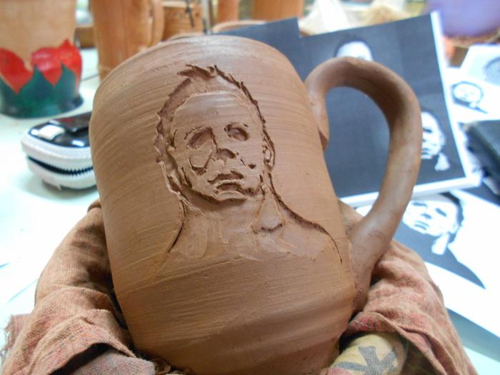 Чистое зло Майк Майерс, Зло, Керамика, Глина, Amaranth ceramica, Пятничный тег моё