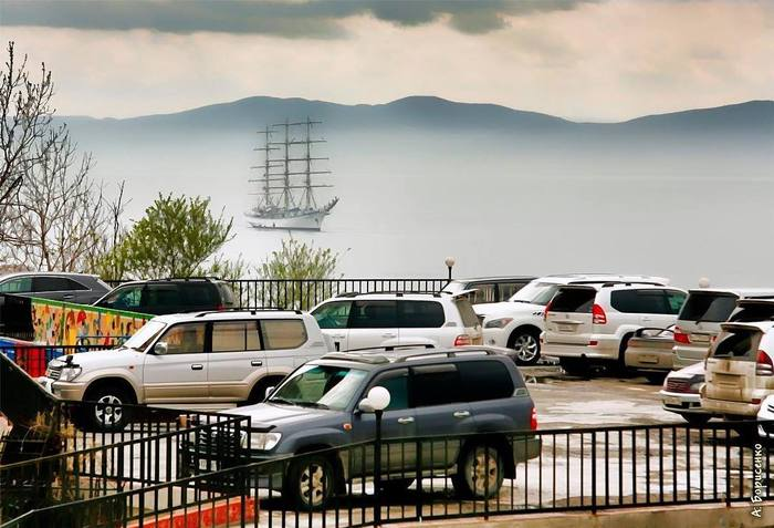 ВладивостокМашины, море и корабли