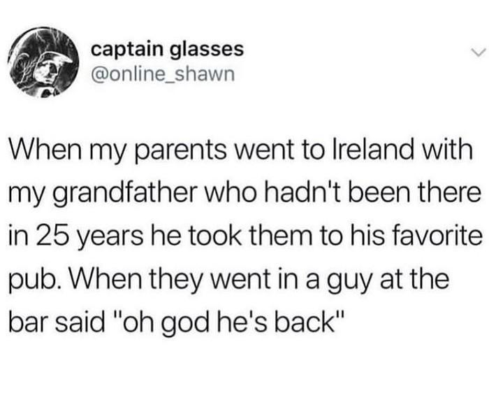Он вернулся Reddit, Юмор, Бар, Родители