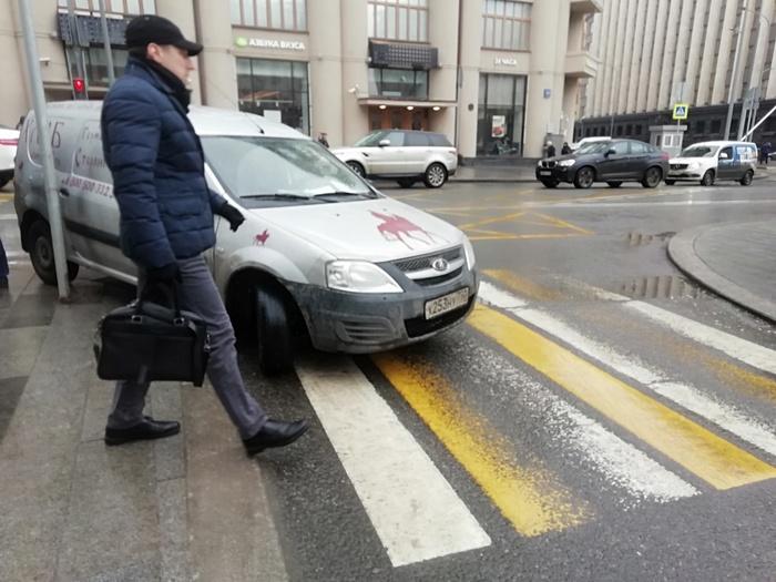 Парковка от Германа Стерлигова. Парковка, Москва, Герман Стерлигов, Негатив