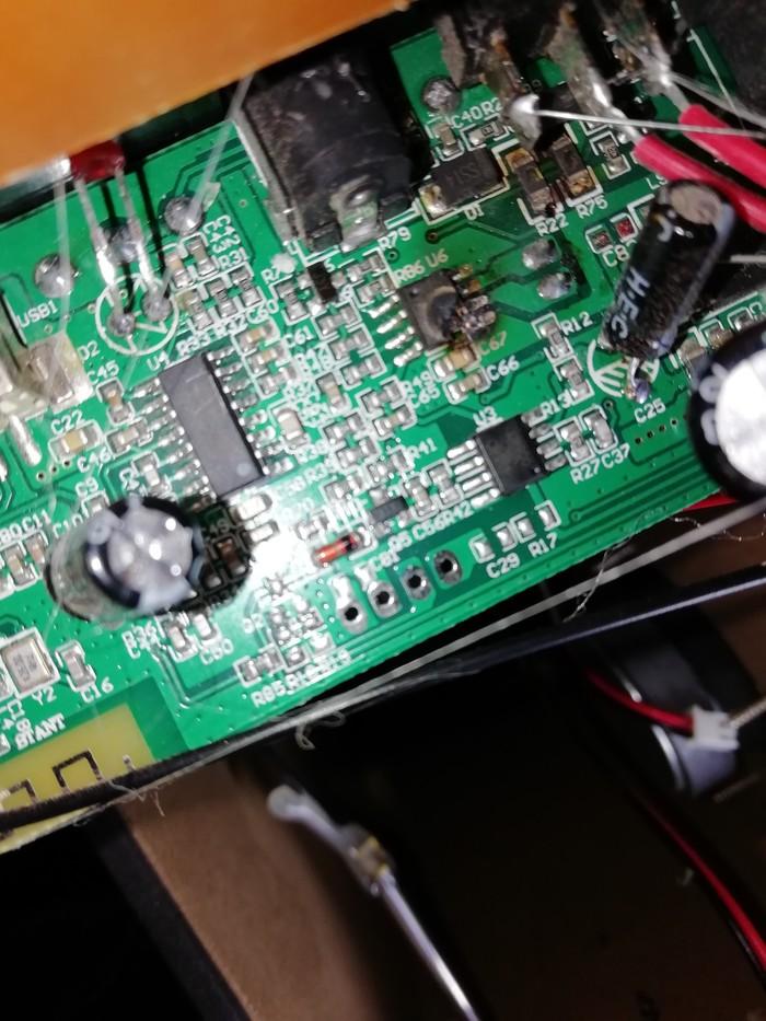 Помогите опознать деталь Аудио колонка, Усилитель, Китай, Ремонт техники, Длиннопост, Помощь