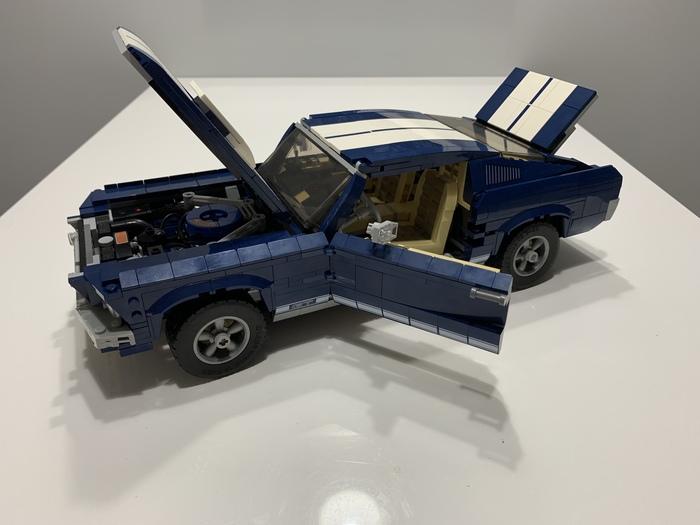 Ford Mustang Lego LEGO, Ford Mustang, Длиннопост, Модель