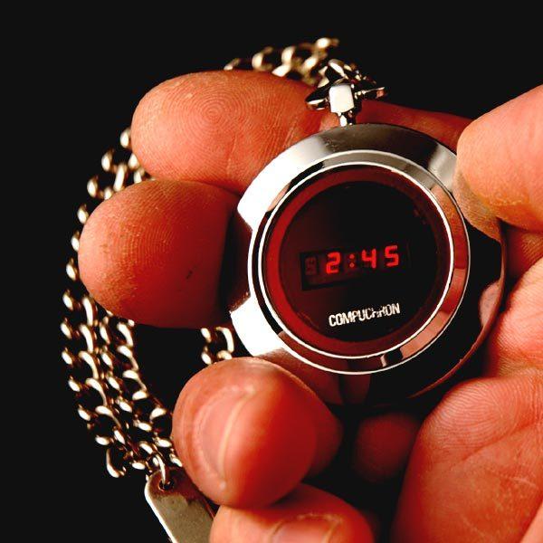 Compu-Chron - карманные электронные часы 1970-х История, Ретро, Техника, Электроника, Часы, История вещей, Длиннопост