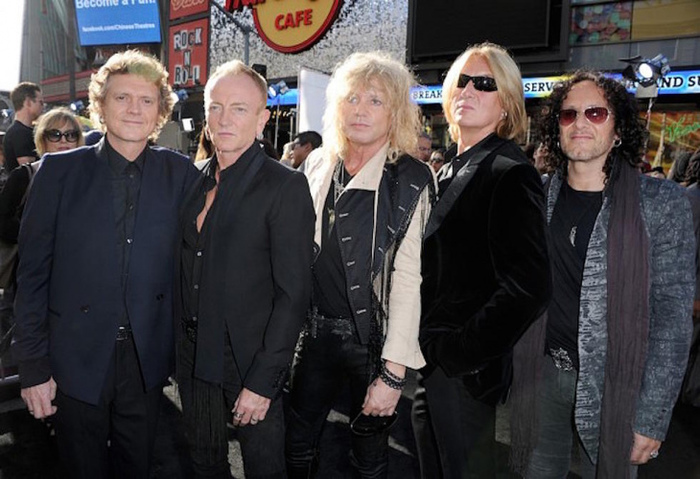 Def Leppard вошли в зал славы рок-н-ролла Def leppard, Зал славы, Рок, Премия, Видео