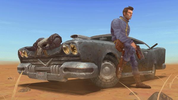 Ремейк второй части Fallout отObsidian Fallout 2, Obsidian Entertainment, Fallout, Гифка, Ремейк, 3D, 1 апреля
