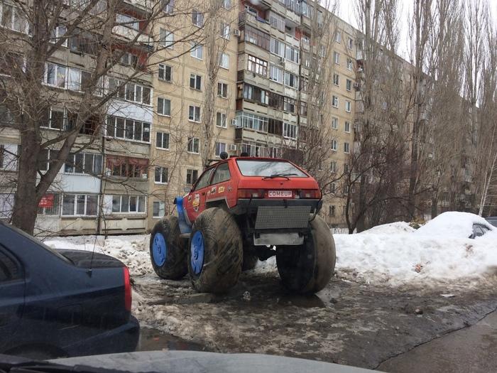 Автомобиль для суровых Саратовских дорог
