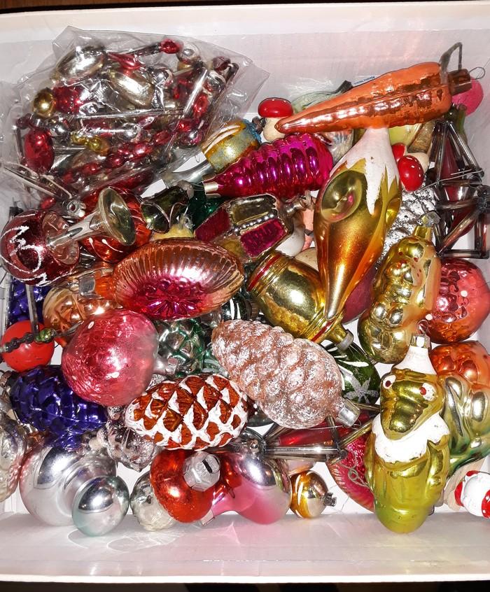 Ёлочные игрушки. Новый Год, Игрушки, Находка, Ностальгия, Длиннопост