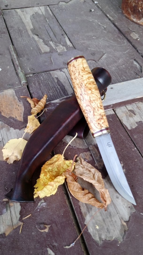 По финским мотивам Нож, Финка, Финский нож, Своими руками, Длиннопост
