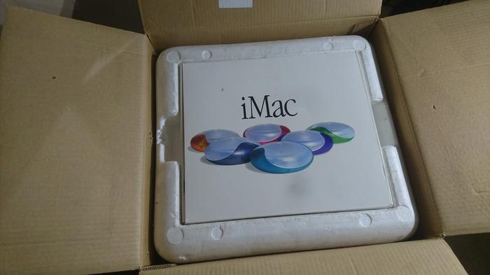 IMAC G3 капсула времени из чулана Длиннопост, Видео, Распаковка, Imac, Macintosh, Компьютер