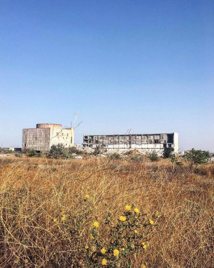Крымская АЭС сегодня Аэс, Крым, Фотография, Заброшенное, Урбанфакт, Длиннопост, Энергетика