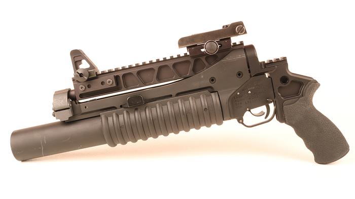 Огражданенный гранатомет. Гранатомет, США, Стрельба, Оружие, Видео, Длиннопост