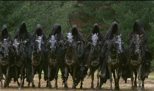 А вы замечали глаз Саурона в упряжи коней Назгулов? Властелин колец, Назгулы, Саурон, Всевидящее око