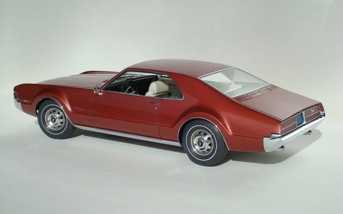Олдсмобил Торонадо 1966 года Стендовый моделизм, Oldsmobile, Длиннопост