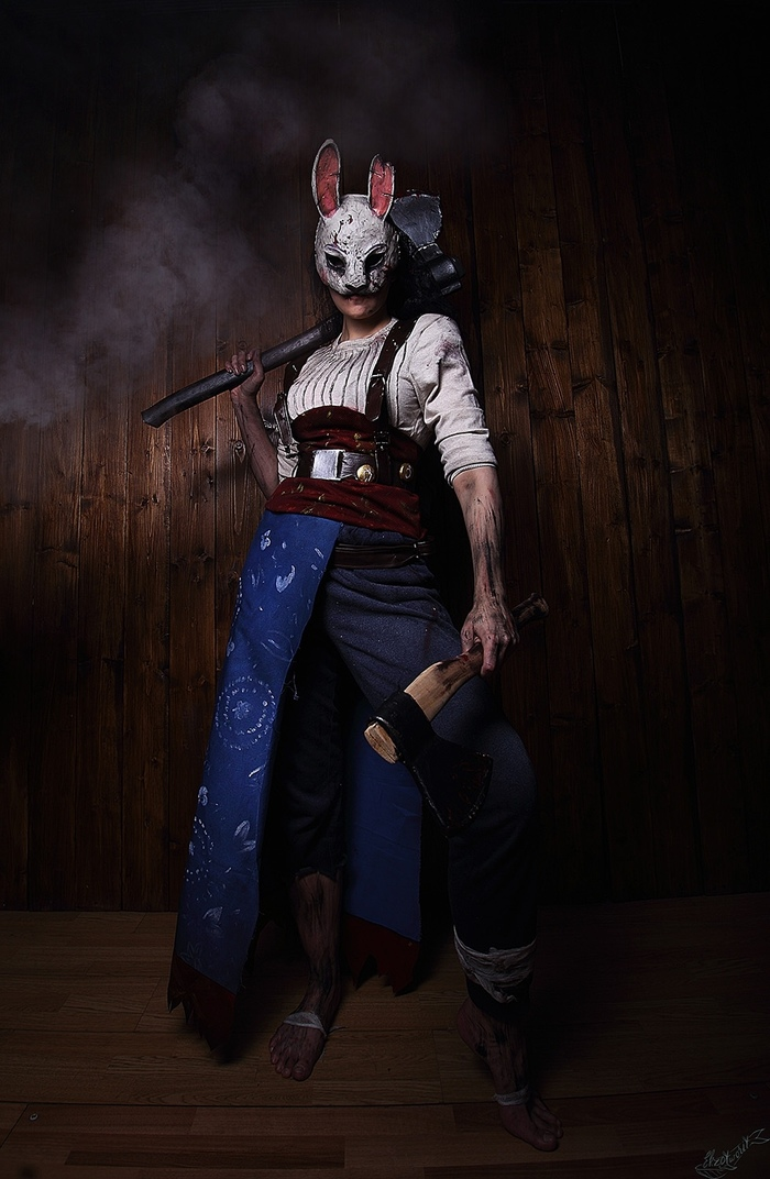 Anna (Dead by daylight) в исполнении Arienai Ten. Dead by Daylight, Косплей, Huntress, Длиннопост